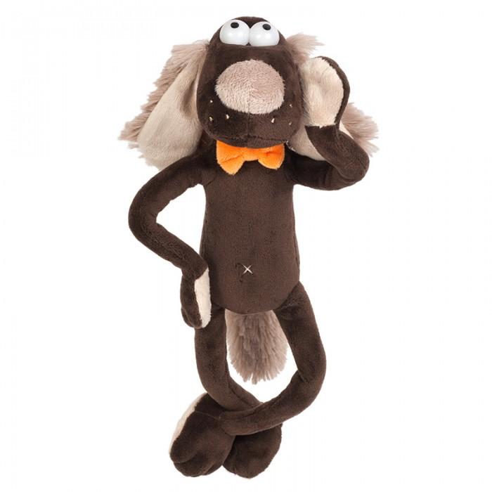 Мягкие игрушки Maxitoys Пес-бежевый Нос 20 см нос