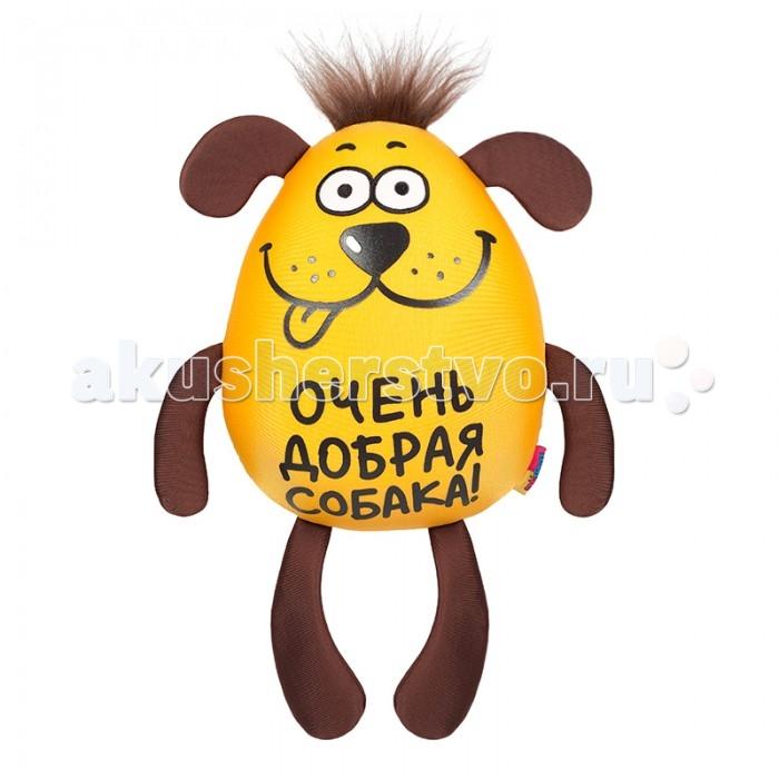 Мягкие игрушки Maxitoys Собака Добряшка 47 см подушки декоративные maxitoys декоративная подушка зебра