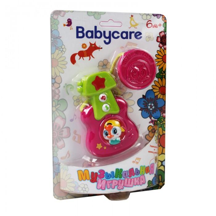 Подвесные игрушки Baby Care Музыкальная Гитара BC1015 подвесные игрушки trousselier облачко и ангел музыкальная