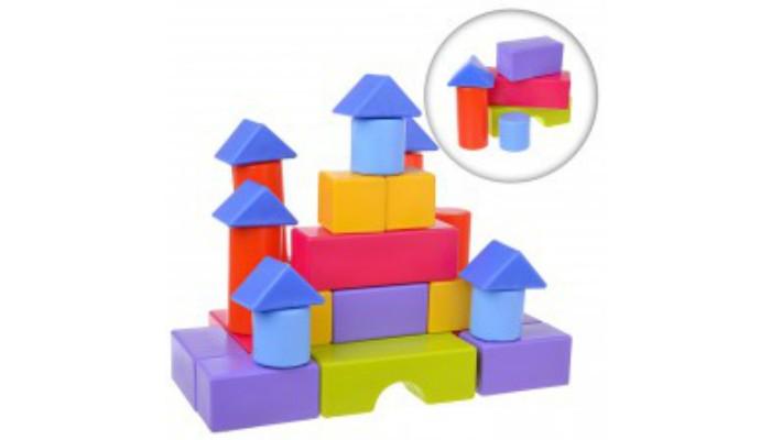 Конструкторы Росигрушка Геометрические фигуры (40 деталей) геометрические фигуры из гипса в донецке