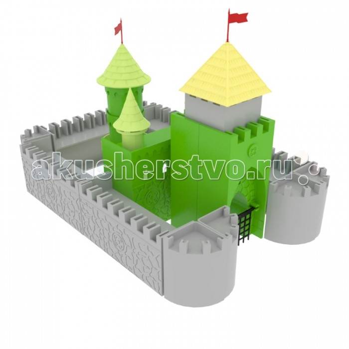 Конструкторы Росигрушка Рыцарский замок (50 деталей) ausini конструктор рыцарский замок 27804