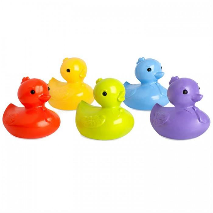 Игрушки для ванны Росигрушка Набор для купания для мальчиков Пять утят (5 деталей) игрушки для ванны росигрушка набор для купания для девочек утята 3 детали