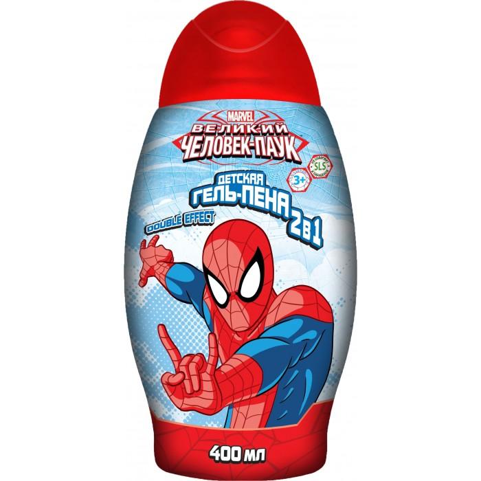 Детская косметика Spider-Man Гель-Пена 2 в 1 400 мл