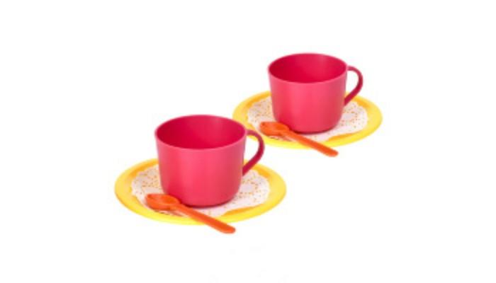 Ролевые игры Росигрушка Набор посуды чайный Малиновый чай (6 деталей) tipson империал 3 чайный набор стеклянный чайник и чай 50 г