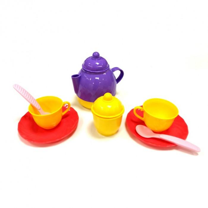 Ролевые игры Росигрушка Набор посуды чайный Причуда (10 деталей) съёмн ручка для наборов посуды 50шт 1141376