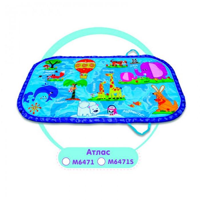 Развивающий коврик Yako АтласАтласYako Развивающий коврик Атлас предназначен для девочек и мальчиков в возрасте от 0 месяцев.  Коврик сможет привлечь внимание любого ребенка благодаря своему яркому и красивому оформлению. Он украшен забавными изображениями различных животных.<br>