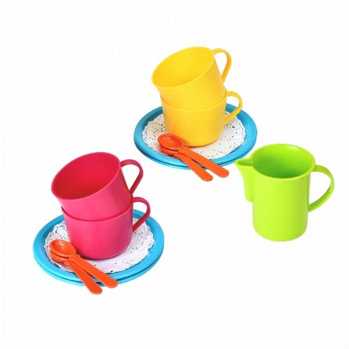 Ролевые игры Росигрушка Набор посуды чайный Чай с молоком (13 деталей)