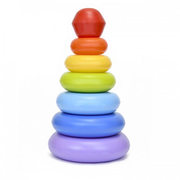 Развивающие игрушки Росигрушка Пирамида Гулливер 32 см (8 деталей) развивающие игрушки росигрушка триколор 14 см 4 детали