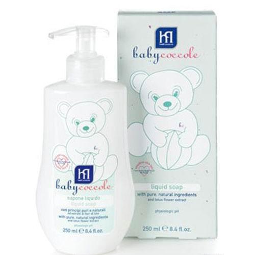 Косметика для новорожденных Babycoccole Жидкое мыло 250 мл babycoccole легкий 100 мл