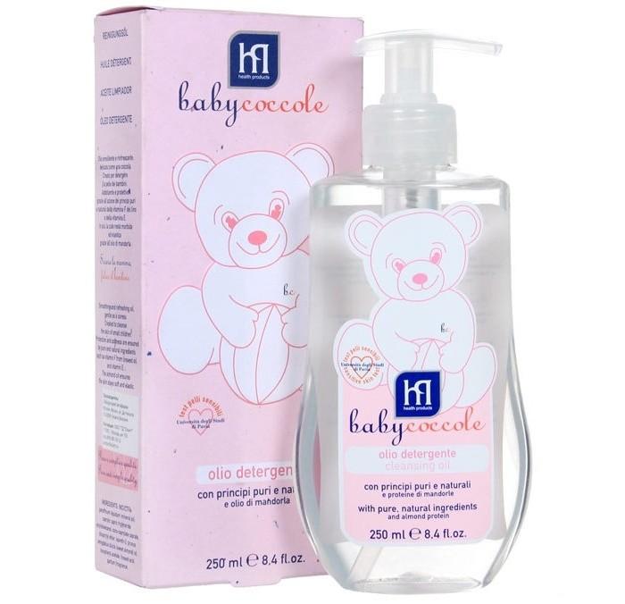 Косметика для новорожденных Babycoccole Масло очищающее 250 мл babycoccole зубная паста со вкусом банана 75мл babycoccole