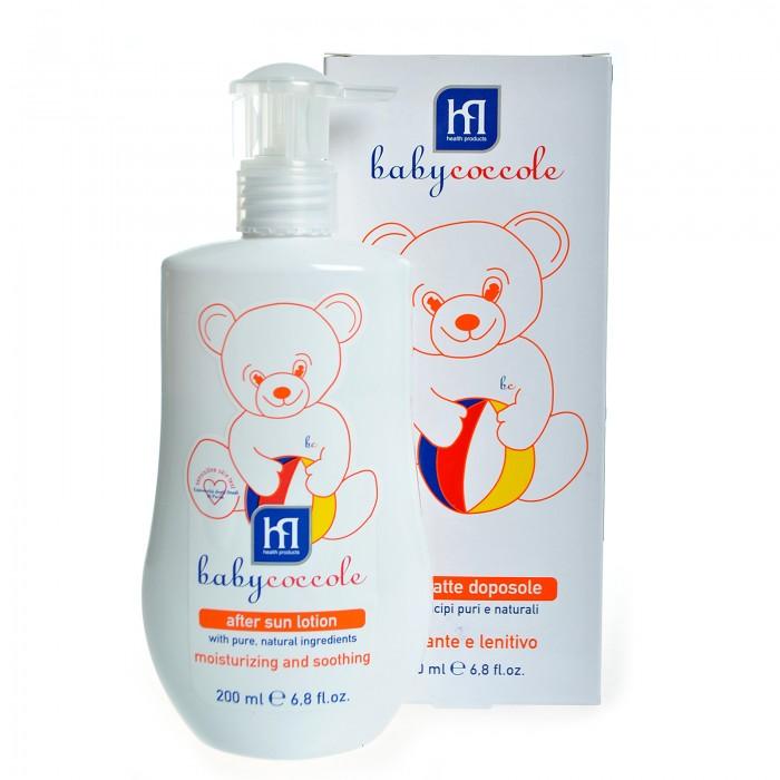 Гигиена и здоровье , Солнцезащитные средства Babycoccole Молочко после загара 200 мл арт: 38612 -  Солнцезащитные средства