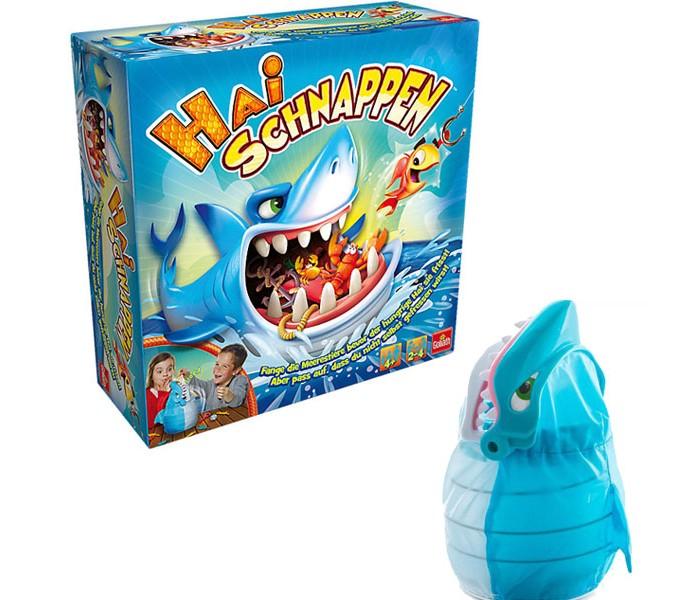 Настольные игры Goliath Игра интерактивная Акуломания игра осторожно акула