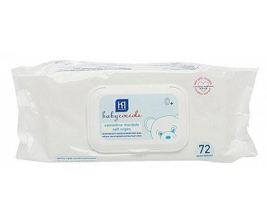 Салфетки Babycoccole Влажные салфетки очищающие 72 шт. babycoccole салфетки очищающие 72 шт babycoccole