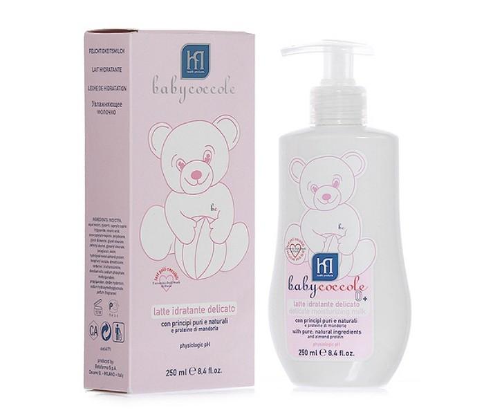 Косметика для новорожденных Babycoccole Молочко увлажняющее 250 мл babycoccole легкий 100 мл