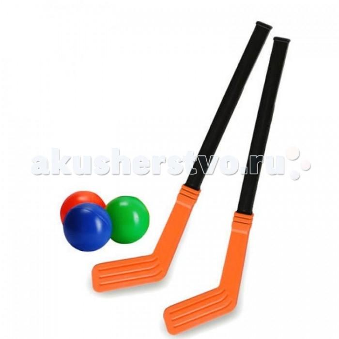 Спортивный инвентарь Росигрушка Хоккей на траве (5 деталей) игрушки чтобы играть в хоккей