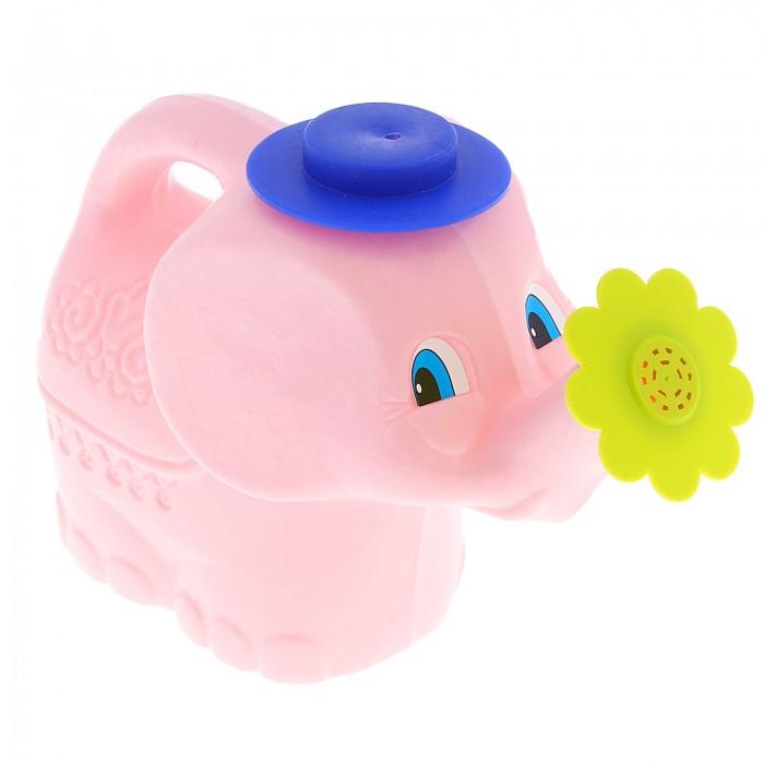 Ролевые игры Росигрушка Лейка Розовый слонёнок 1.3 л каталки альтернатива башпласт слонёнок