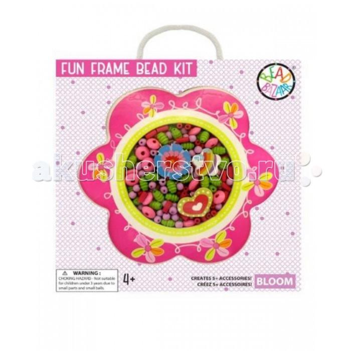 Bead Bazaar Набор-рамка Цветок 1437 bead bazaar трапеция