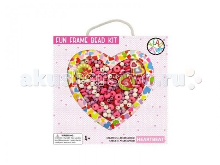 Bead Bazaar Набор-рамка Сердцебиение 1435 bead bazaar трапеция