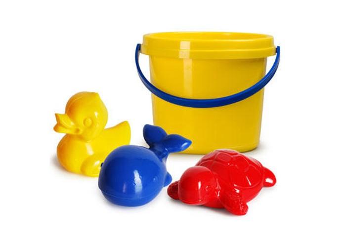 Игрушки в песочницу Росигрушка Песочный набор Лето в ведре (5 деталей) игрушки в песочницу росигрушка песочный набор люкс 1 л лесное приключение