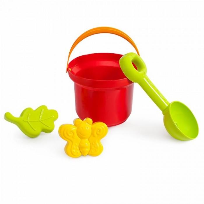 Игрушки в песочницу Росигрушка Песочный набор ВЛ (4 детали) Робинзон