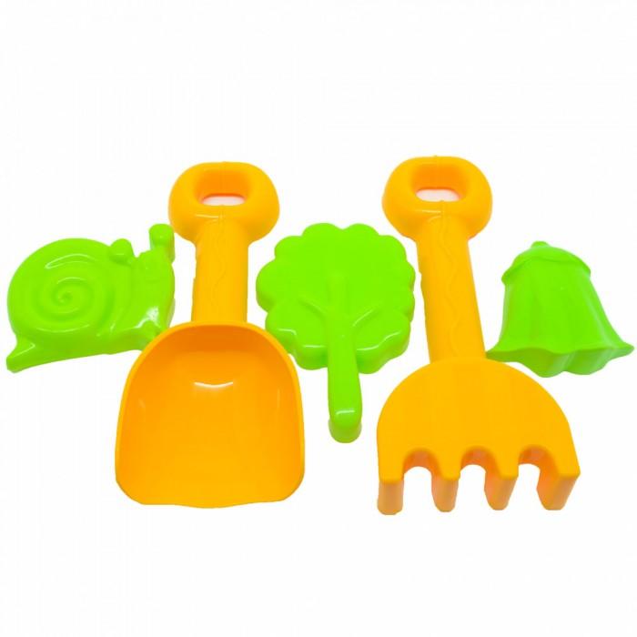 Игрушки в песочницу Росигрушка Песочный набор В&Л (5 деталей) В лесу игрушки в песочницу росигрушка песочный набор люкс 1 л лесное приключение