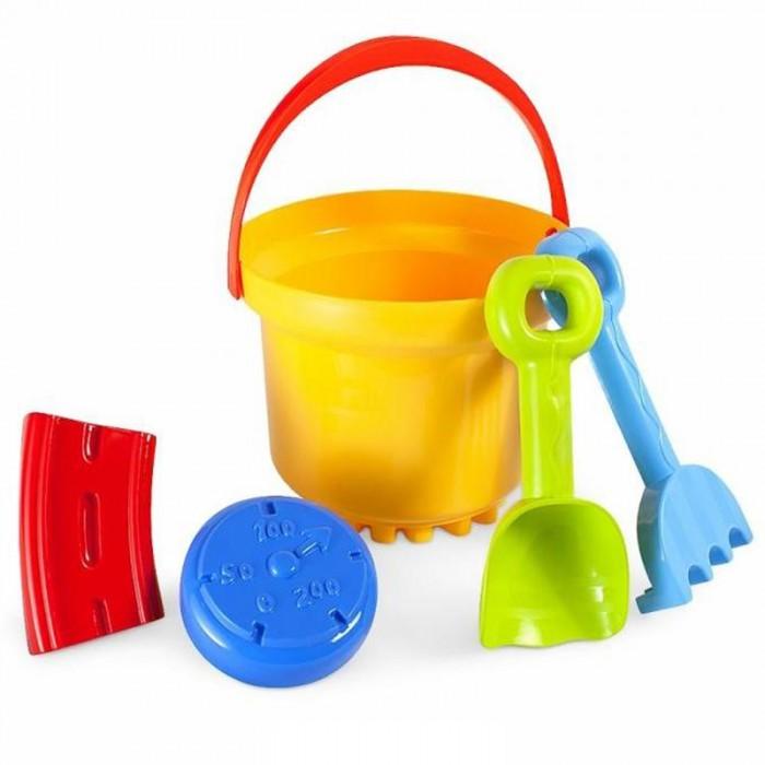 Игрушки в песочницу Росигрушка Песочный набор В&Л (5 деталей) Путешественник игрушки для зимы unice песочный набор лопата грабли