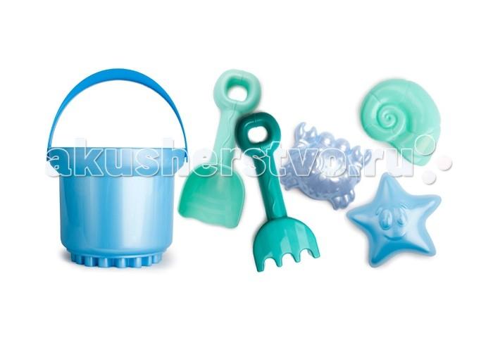Игрушки для зимы Росигрушка Песочный набор Люкс 3 л Морской 3 обнаженный песочный