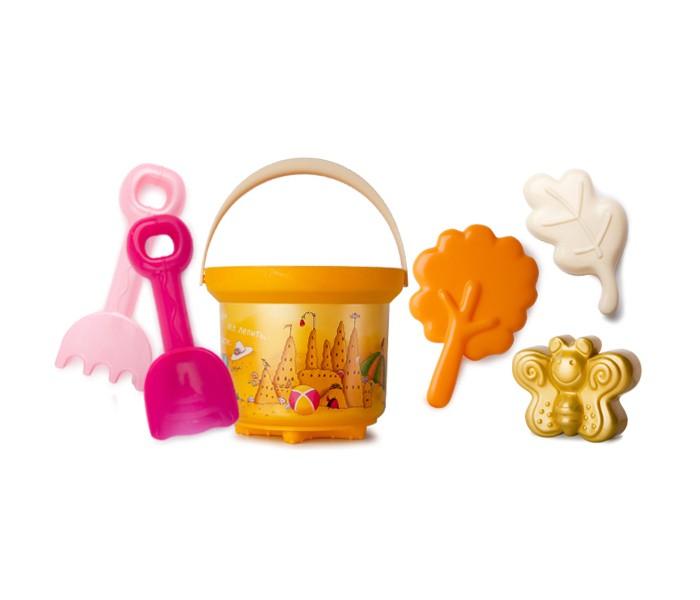 Игрушки в песочницу Росигрушка Песочный набор Пляж 2 л