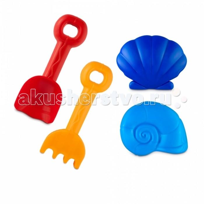 Игрушки для зимы Росигрушка Песочный набор Пляжный (4 детали) 3 обнаженный песочный