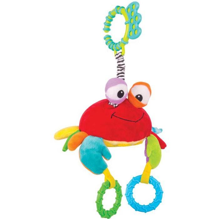 Подвесные игрушки Happy Snail Краб Чарми дальневосточный краб в москве
