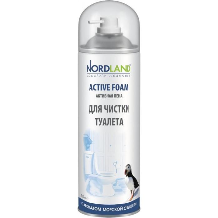 Бытовая химия Nordland Пена для чистки туалета с ароматом морской свежести 500 мл спрей для чистки свч topperr 500 мл