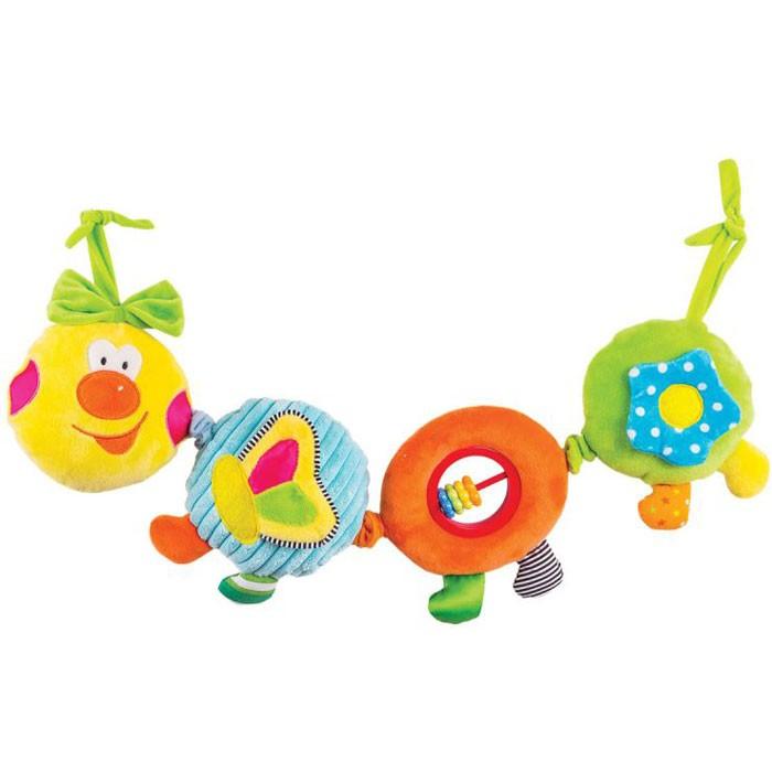 Подвесная игрушка Happy Snail Весёлая гусеница Камилла 14HS003PG
