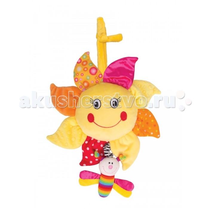 Мобили Happy Snail Музыкальный Подсолнух мобили biba toys музыкальный друзья бюсси