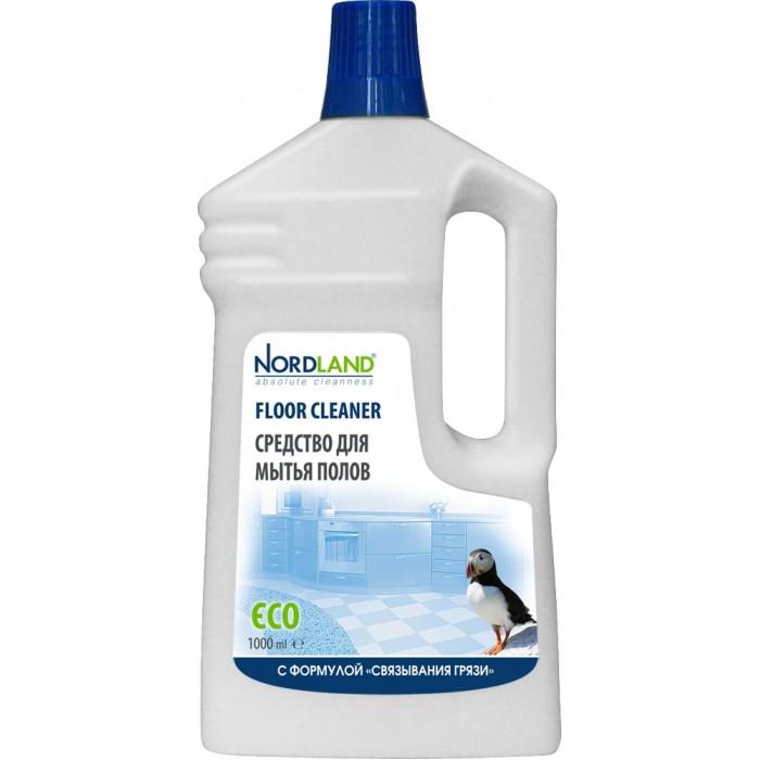 Бытовая химия Nordland Средство для мытья полов Концентрат 1 л средство для стекла и зеркал nordland 391329