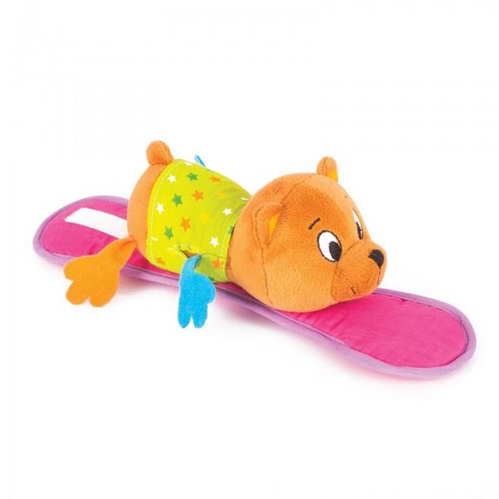 Подвесные игрушки Happy Snail Крепитель Медвежонок Берни игрушка погремушка мякиши медвежонок колечко