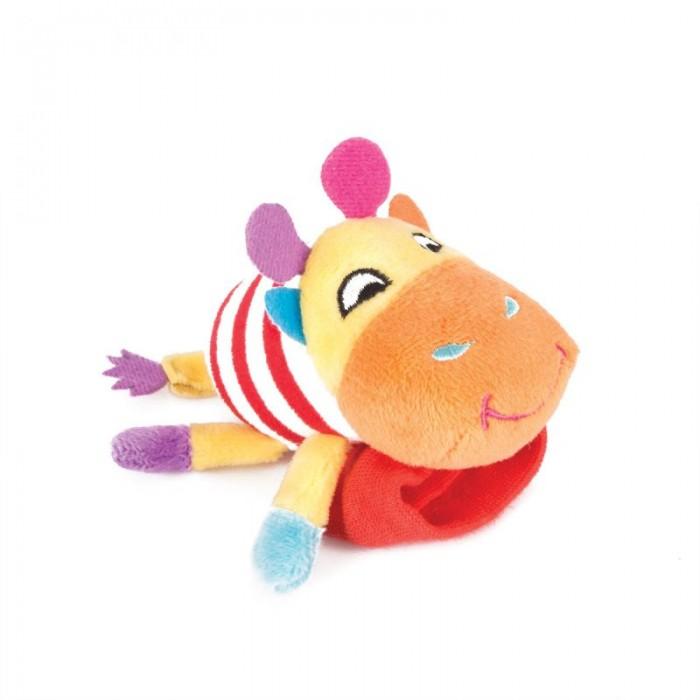 Погремушки Happy Snail Игрушка на ручку Жираф Спот игрушка на пружинке жираф