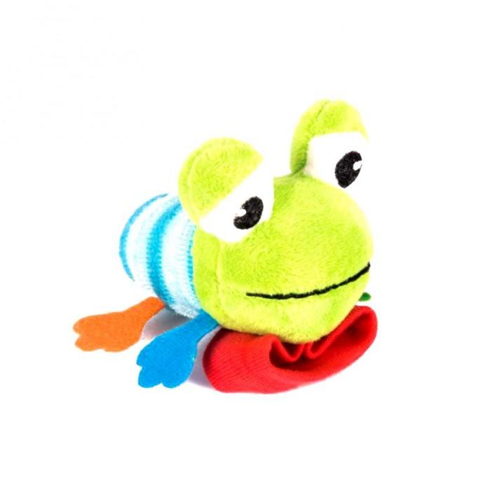 Погремушки Happy Snail Игрушка на ручку Лягушонок Квака golden snail 72v60v