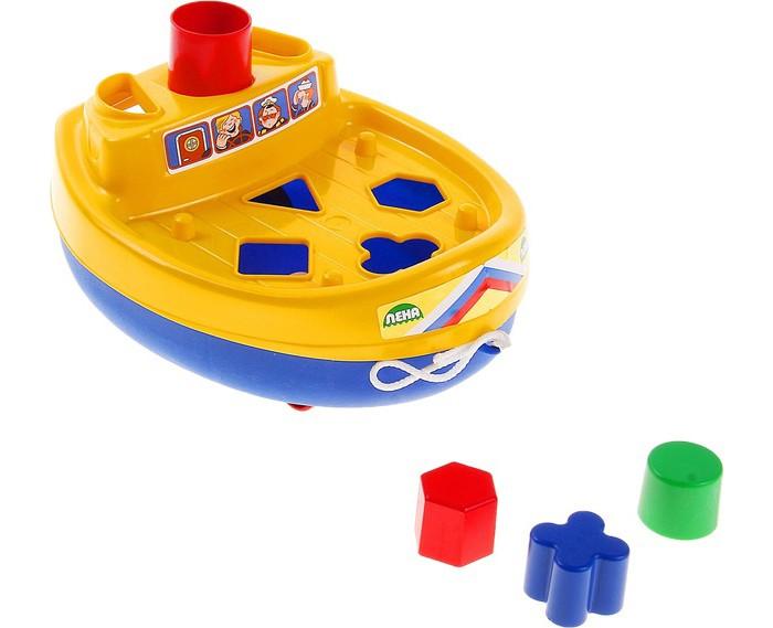 Каталки-игрушки Лена Кораблик 65630