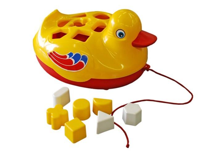 Каталки-игрушки Лена Утенок brasco игрушка для ванной утенок и его друзья