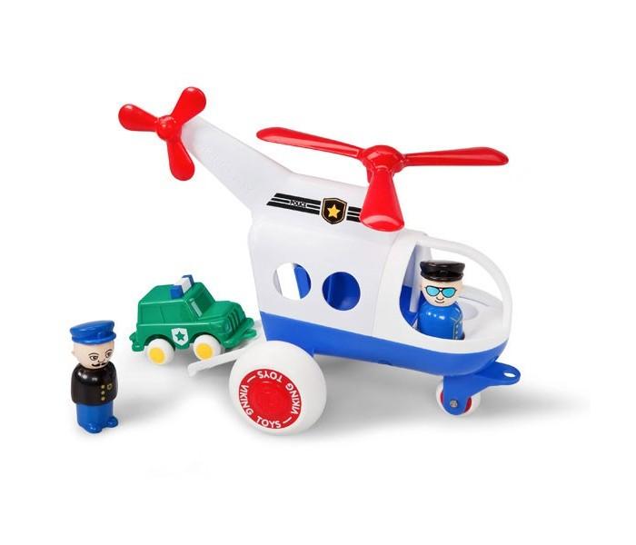 Viking Toys Джамбо вертолёт Полиция 30см с машинкой и 2 фигурками