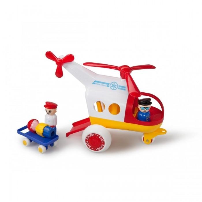 Вертолеты и самолеты Viking Toys Джамбо вертолёт Скорая помощь 30 см