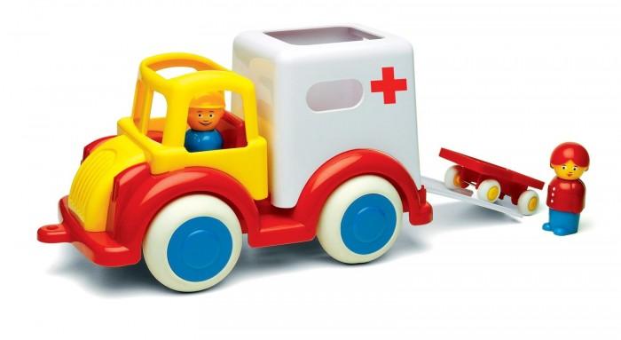 Купить Машины, Viking Toys Джамбо машинка скорой помощи 25 см с 2 фигурками и носилками