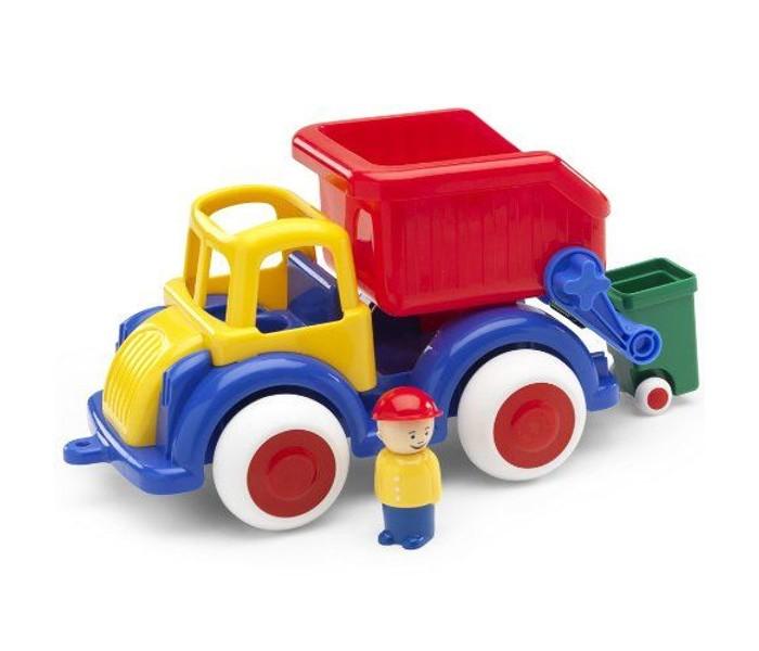 Машины Viking Toys Джамбо мусоровоз 28 см с 1 фигуркой швейная машинка husqvarna viking e20