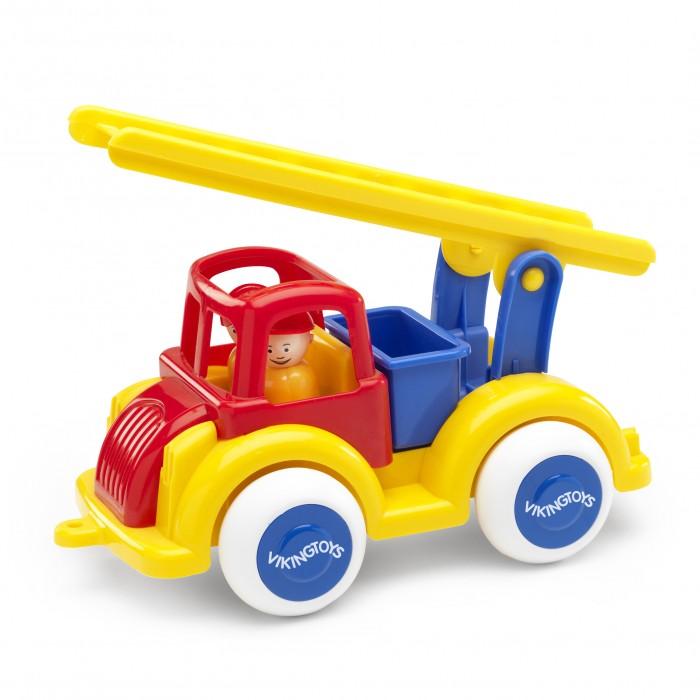 Купить Машины, Viking Toys Джамбо пожарная машина 28 см с 2 фигурками