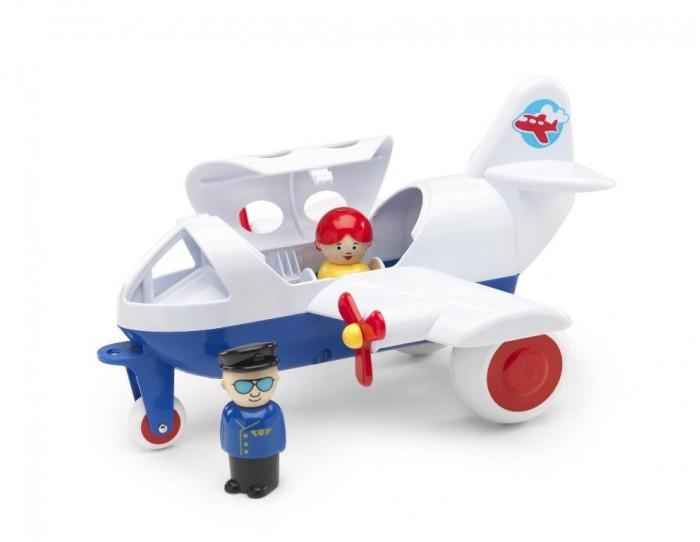 Вертолеты и самолеты Viking Toys Джамбо самолёт авиалиний Viking 30 см с 2 фигурками