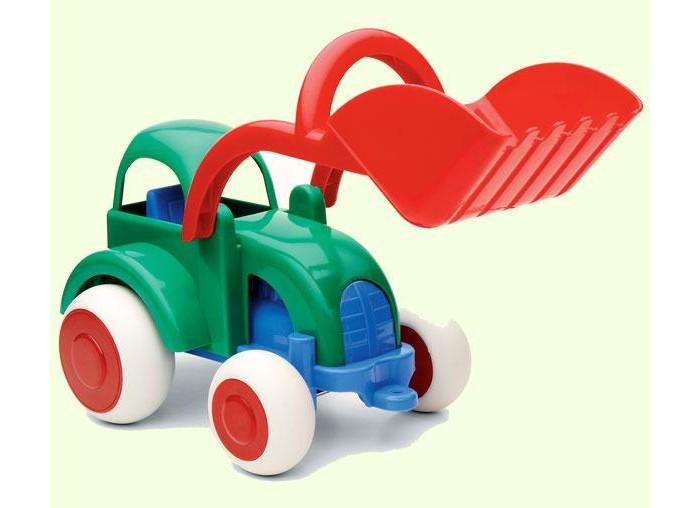 Купить Машины, Viking Toys Джамбо трактор-экскаватор 25 см