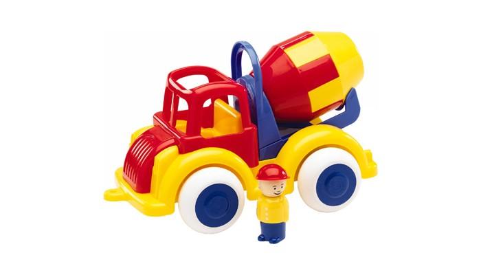 Машины Viking Toys Джамбо цементомешалка 28 см с 1 фигуркой