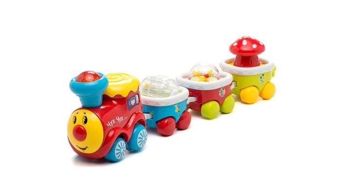 Электронные игрушки Умка Музыкальный паровозик электронные игрушки умка обучающий сканер