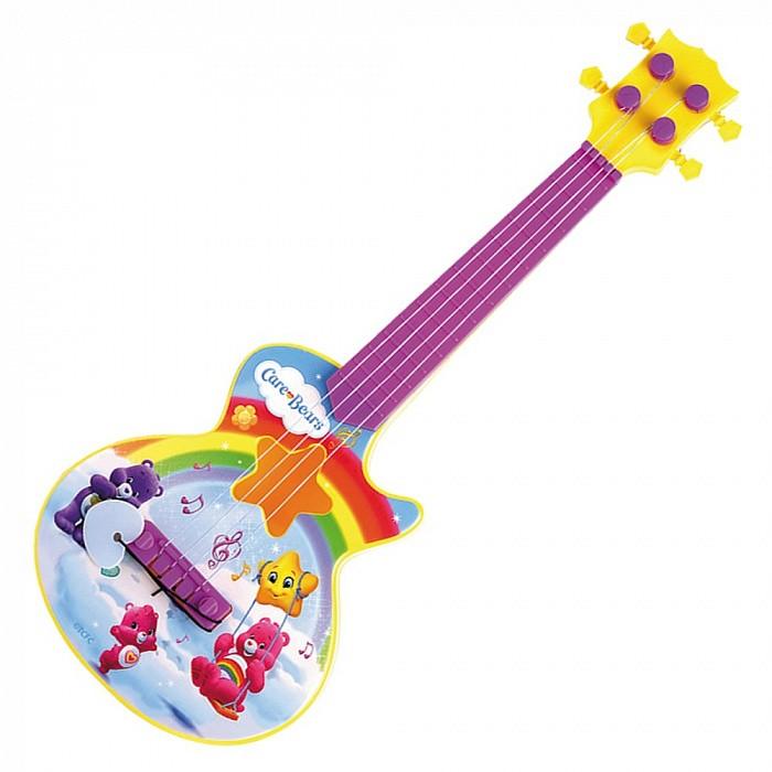 Музыкальные игрушки Care Bears Гитара с медиатором музыкальные игрушки