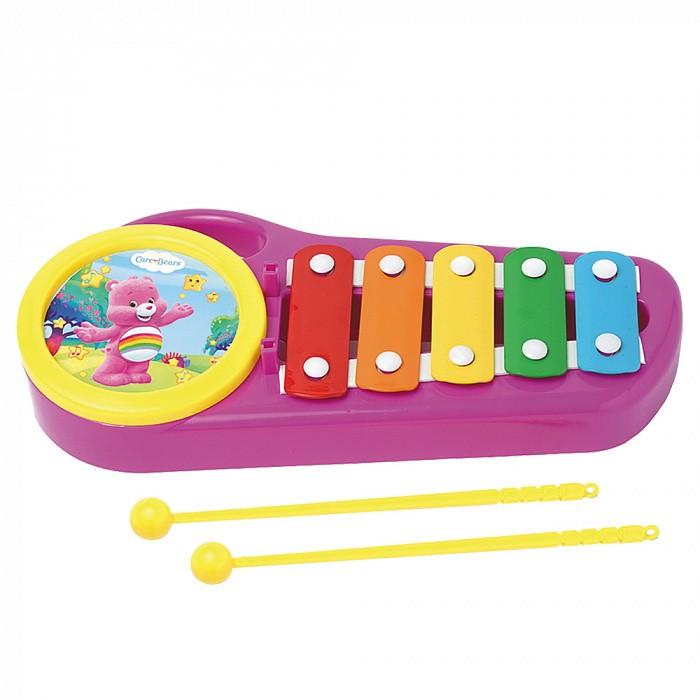 Музыкальные игрушки Care Bears Металлофон товары для праздника care bears набор свечей заботливые мишки